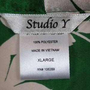 Studio Y Tops - Maurice's Satin Blouse